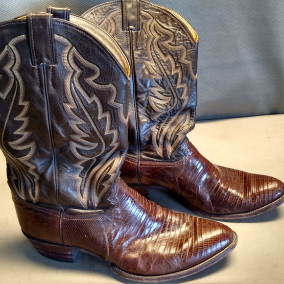 c398b9b6226 Justin Men's Size 13 Lizard Skin Boots